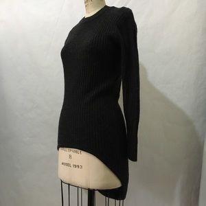 Alexander Wang wool sweater dress.